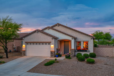 Oro Valley Single Family Home Active Contingent: 13052 N Woosnam Way