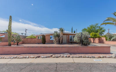 Tucson Single Family Home For Sale: 6808 E 12th Street