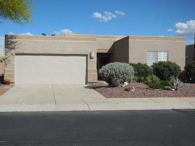 Tucson Single Family Home Active Contingent: 8340 N Starfinder Place