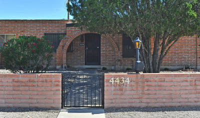 Pima County, Pinal County Townhouse For Sale: 4434 E Fort Lowell Road