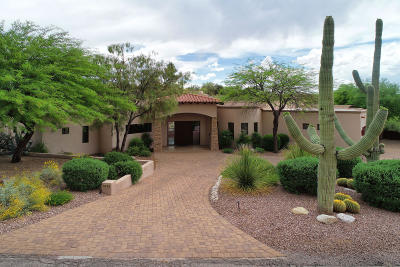 Catalina Foothills Estates, Catalina Foothills Estates #10 (259-278), Catalina Foothills Estates No. 2, Catalina Foothills Estates No. 3, Catalina Foothills Estates No. 4 (401-428), Catalina Foothills Estates No. 5, Catalina Foothills Estates No. 6 (1-54), Catalina Foothills Estates No. 7 Single Family Home For Sale: 5870 N Piedra Seca