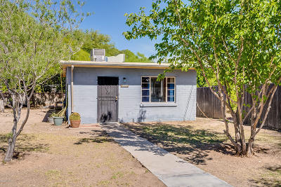 Tucson Single Family Home Active Contingent: 2720 N Los Altos Avenue