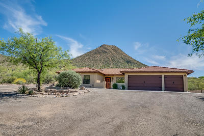 Tucson Single Family Home Active Contingent: 4201 W Anklam Road