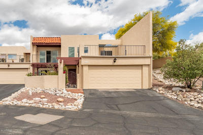 Tucson Townhouse For Sale: 6354 N Camino Los Mochis
