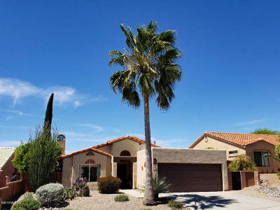 Oro Valley Single Family Home Active Contingent: 10281 N Wild Turkey Lane