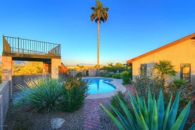 Tucson Single Family Home For Sale: 4991 N Wild Life Drive