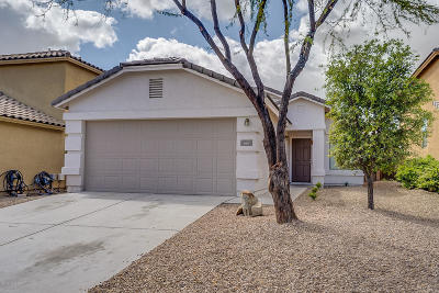 Green Valley Single Family Home Active Contingent: 661 W Desert Blossom Drive