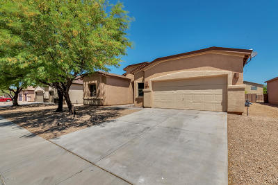 Tucson Single Family Home Active Contingent: 8244 W Calle Sancho Panza