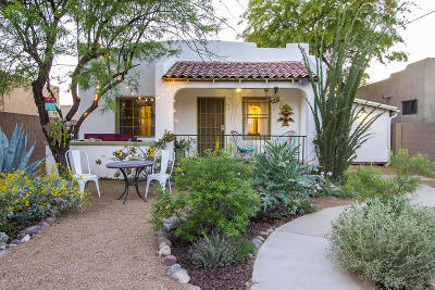 Tucson Single Family Home Active Contingent: 3111 N Cherry Avenue