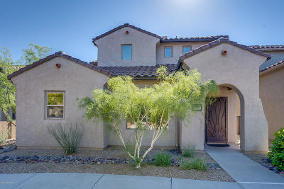 Tucson Single Family Home Active Contingent: 10609 E Forest Falls Court