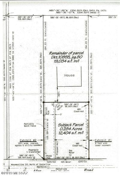 Residential Lots & Land For Sale: 1641 E Allen Road