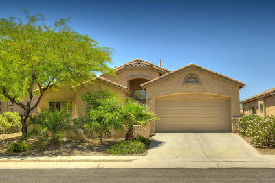 Oro Valley Single Family Home Active Contingent: 11951 N Cantata Drive