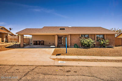 Tucson Single Family Home For Sale: 3355 W Raintree Drive