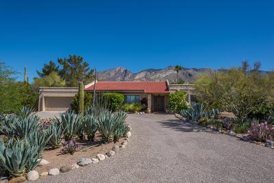 Tucson Single Family Home Active Contingent: 5727 N Camino Del Conde