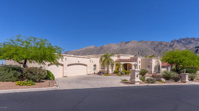 Tucson Single Family Home Active Contingent: 6159 Pinchot Road