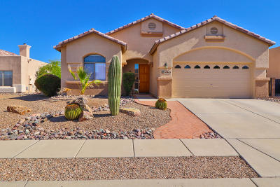 Pima County, Pinal County Single Family Home Active Contingent: 10465 E Kingswood Drive
