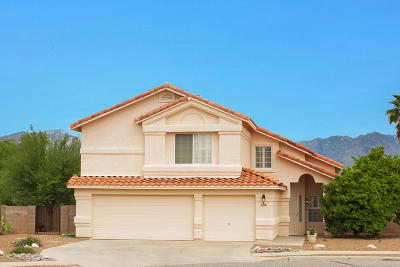 Pima County, Pinal County Single Family Home Active Contingent: 8043 E Hayden Place