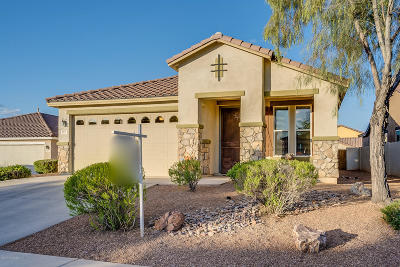 Pima County Single Family Home Active Contingent: 497 W Vuelta Friso