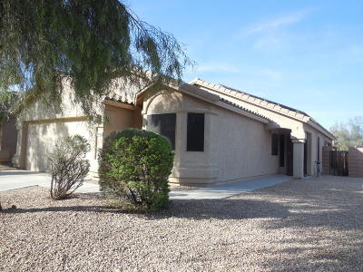 Tucson Single Family Home Active Contingent: 8726 N Moonfire Drive