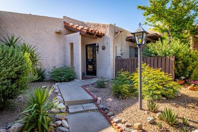 Tucson Townhouse For Sale: 4549 E La Choza