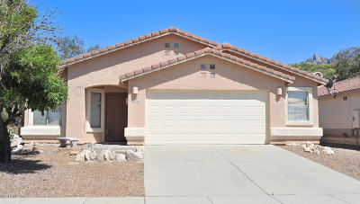 Tucson Single Family Home Active Contingent: 11344 N Flat Granite Drive