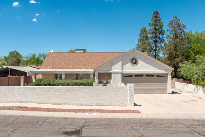 Tucson Single Family Home For Sale: 2856 W Goldfield Drive