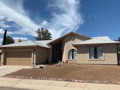 Tucson Single Family Home Active Contingent: 2690 W Camino Del Medrano