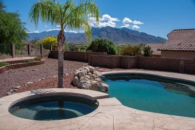 Tucson Single Family Home Active Contingent: 2454 W Tortolita Bluffs Drive