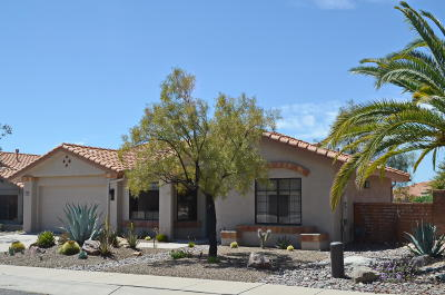 Oro Valley Single Family Home Active Contingent: 14557 N Lone Wolf Lane