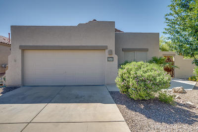 Tucson Single Family Home Active Contingent: 7735 W August Moon Place