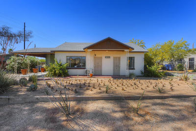 Tucson Single Family Home Active Contingent: 1226 E Mitchell Street