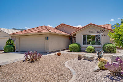 Saddlebrooke Single Family Home Active Contingent: 37995 S Birdie Drive