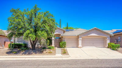Oro Valley Single Family Home For Sale: 11015 N Canada Ridge Drive