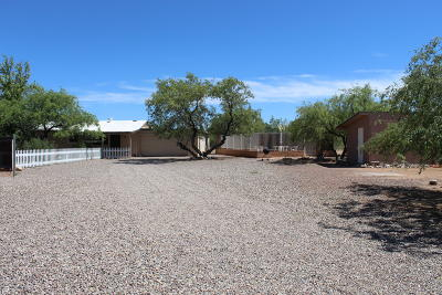 Tucson Single Family Home Active Contingent: 12715 W Cactus Ridge Drive