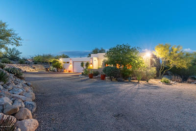 Tucson Single Family Home Active Contingent: 5042 N Camino De Oeste