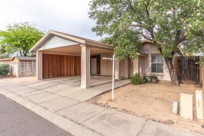 Tucson Single Family Home Active Contingent: 4666 N Brittain Place