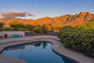 Oro Valley Single Family Home Active Contingent: 11595 N Skywire Way