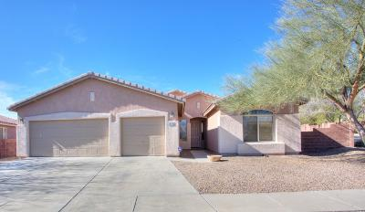 Tucson Single Family Home Active Contingent: 3957 W Valley Mine Drive