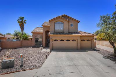 Tucson Single Family Home Active Contingent: 7051 W Avondale Place