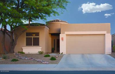 Tucson Single Family Home Active Contingent: 8490 N Sunny Rock Ridge Drive