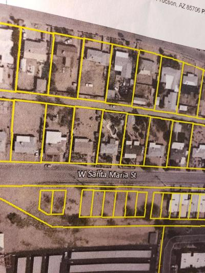 Tucson Residential Lots & Land Active Contingent: 925 W Santa Maria Street #17