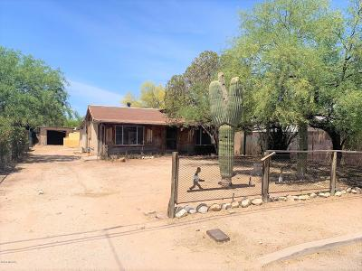 Tucson Single Family Home Active Contingent: 2725 N Cortez Place