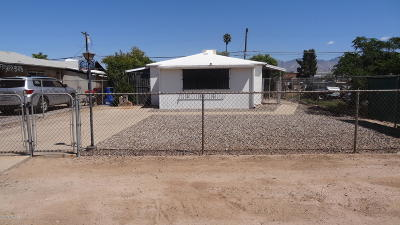Tucson Single Family Home For Sale: 2011 E 18th Street