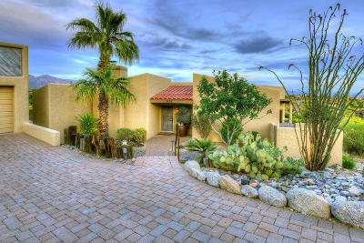 Tucson Single Family Home For Sale: 5828 N Paseo Ventoso