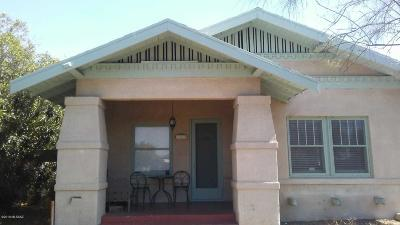 Tucson Single Family Home For Sale: 642 E Speedway Boulevard