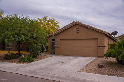 Marana Single Family Home Active Contingent: 11487 W Anasazi Passage Street