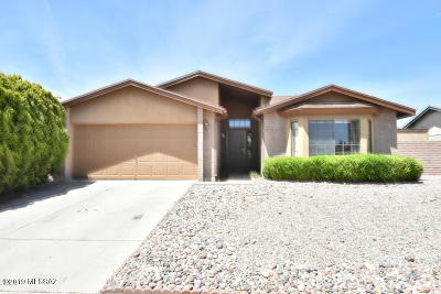 Sierra Vista Single Family Home Active Contingent: 3703 Sandpiper Drive