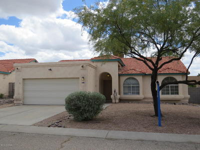 Tucson Single Family Home For Sale: 5143 W Warbler Street