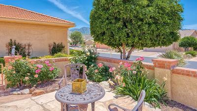 Saddlebrooke Single Family Home Active Contingent: 65710 E Desert Rise Drive
