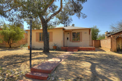 Tucson Single Family Home Active Contingent: 1922 E 8th Street